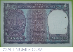 Image #2 of 1 Rupee 1978 - A