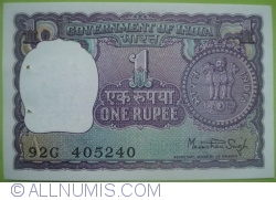Imaginea #1 a 1 Rupee 1978 - A