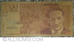 Imaginea #1 a 1000 Pesos 2001 (17. XII.)