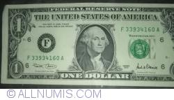Image #1 of 1 Dollar 2001 - F