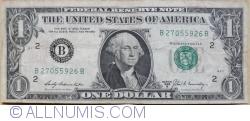 Image #1 of 1 Dollar 1969B - B