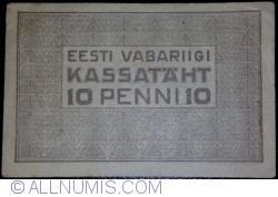 Imaginea #2 a 10 Penni ND (1919)