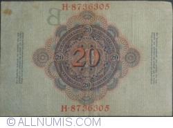 Image #2 of 20 Mark 1910 (21. IV.) - B