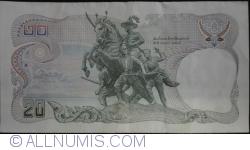 Image #2 of 20 Baht BE 2524 (1981) - signatures Somkid Chatusripitak/ Preeyadhorn Dhevakul (74)