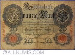 Image #1 of 20 Mark 1910 (21. IV.) - G