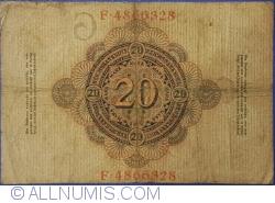 Image #2 of 20 Mark 1910 (21. IV.) - G