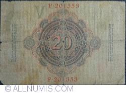 Image #2 of 20 Mark 1910 (21. IV.) - V