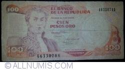 Image #1 of 100 Pesos Oro 1989 (7. VIII.)