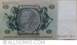 Imaginea #2 a 50 Reichsmark 1933 (30. III.) - B (serie cu 7 cifre)