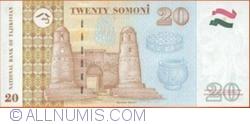 20 Somoni 1999 (2000)