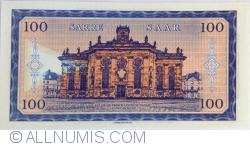 Image #2 of Saar - 100 Francs / Mark 2017