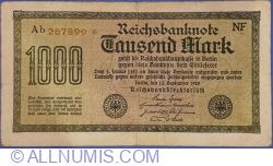 1000 Mark 1922 (15. IX.) - 9