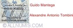 2 Reais ND (2001- ) - signatures Guido Mantega/ Alexandre Antonio Tombini