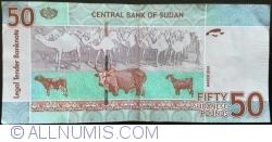 Imaginea #2 a 50 (٥٠) Sudanese Pounds 2015 (٢٠١٥) (III.)