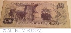 Image #2 of 20 Dollars ND (1989) - signatures Patrick Matthews / Carl Greenidge