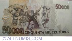 50 Cruzeiros Reais on 50 000 Cruzeiros ND (1993)