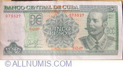5 Pesos 2017