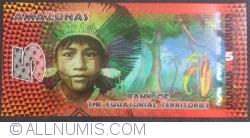 Image #1 of 5 Ecuatorial Francs 2014 - Amazonas