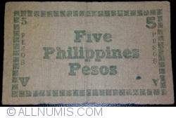 Image #2 of 5 Pesos 1944