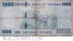1000 Francs / Amafranga 2015 (1. V.)