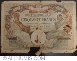 Image #1 of 50 Francs 1937 ND (1937-1947)