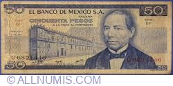 Image #1 of 50 Pesos 1973 (18. VII.) - Serie BP