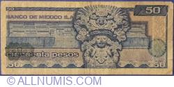 Image #2 of 50 Pesos 1973 (18. VII.) - Serie BP