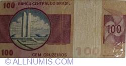Image #2 of 100 Cruzeiros ND (1974)