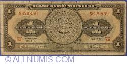 Image #1 of 1 Peso 1961 (25. I.) - Serie KB