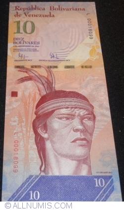 Imaginea #1 a 10 Bolivares 2009 (3. IX.)