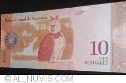 Imaginea #2 a 10 Bolivares 2009 (3. IX.)
