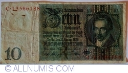 Image #1 of 10 Reichsmark 1929 (22. I.) - R