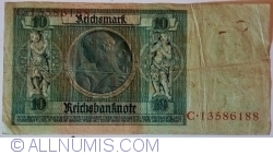 Image #2 of 10 Reichsmark 1929 (22. I.) - R