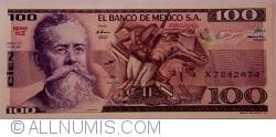 Image #1 of 100 Pesos 1981 (27. I.) - Serie NZ