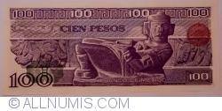 Image #2 of 100 Pesos 1981 (27. I.) - Serie NZ