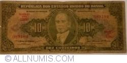 Image #1 of 10 Cruzeiros ND (1953-1960) - signatures Claudionor de Souza Lemos / Jose Maria Alkimin
