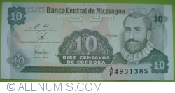 Image #1 of 10 Centavos ND(1991) - signature 1