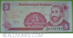 Image #1 of 5 Centavos ND(1991) - signature 2