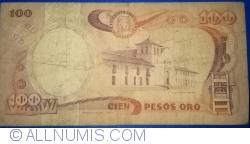 Image #2 of 100 Pesos Oro 1984 (12. X.)