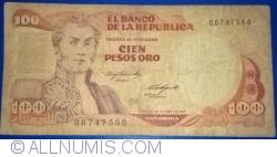 Image #1 of 100 Pesos Oro 1984 (12. X.)