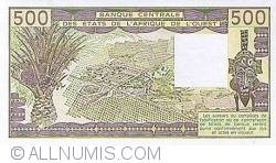 Image #2 of 500 Francs 1988 A