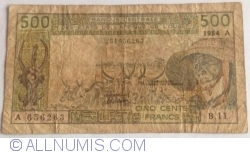 Image #1 of 500 Francs 1984 A