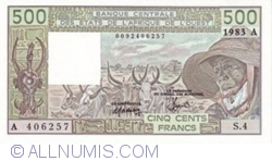 Image #1 of 500 Francs 1983 A