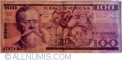 Image #1 of 100 Pesos 1982 (25. III.) - Serie UW