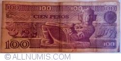 Image #2 of 100 Pesos 1982 (25. III.) - Serie UW