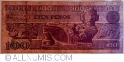 Image #2 of 100 Pesos 1981 (3. IX) - Serie TP