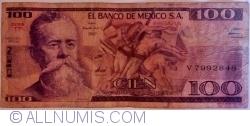 Image #1 of 100 Pesos 1981 (3. IX) - Serie TP