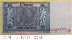 Image #2 of 10 Reichsmark 1929 (22. I.) - E