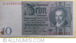 Image #1 of 10 Reichsmark 1929 (22. I.) - E