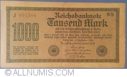 Image #1 of 1000 Mark 1922 (15. IX.) - 3